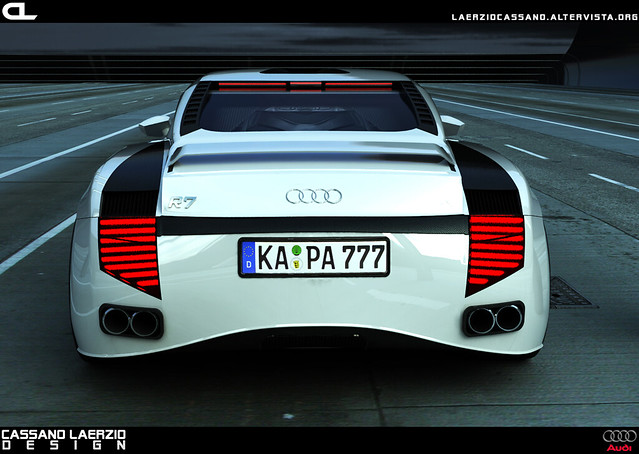 Audi R7 Concept This Is A Concept Car Developed By Me In