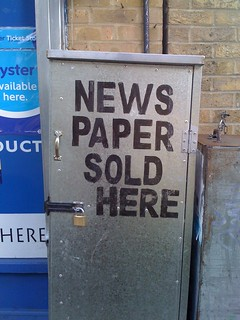 Newspaper Sold Here | by Tom T