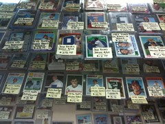 A baseball card shop in NYC?!?  Who knew! (Bway & Maiden). Clemens rookie $12 | by dpstyles™