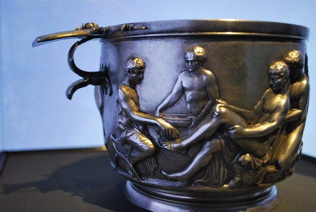 Skyphos With Philoctetes In Classifying The Silverware