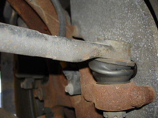 Left tie rod end (view from front) DSC06091 | by hspauldi