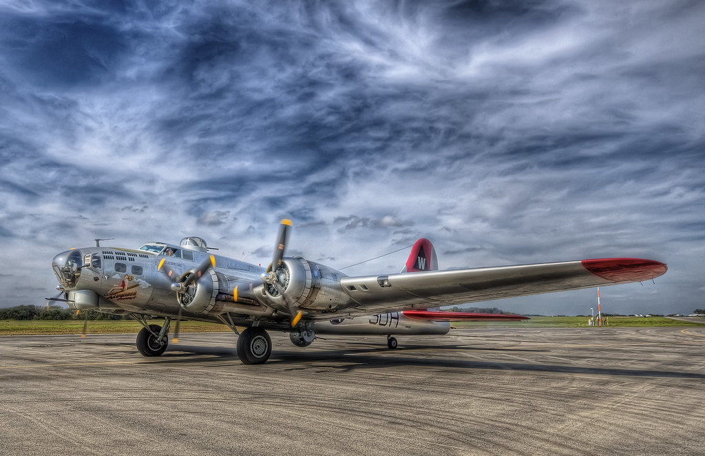 B-17 Bomber | View this shot on my blog. B17 Bomber called ...