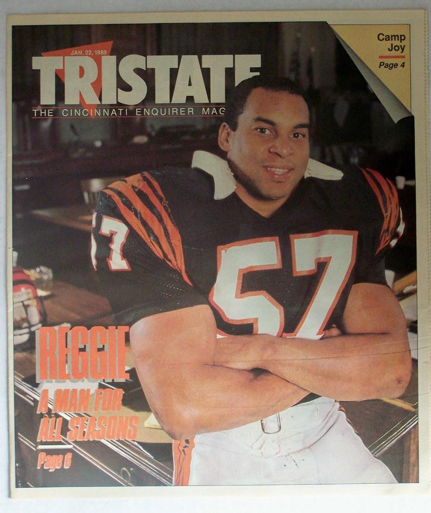 January 22 1989 REGGIE WILLIAMS CINCINNATI BENGALS NFL co…