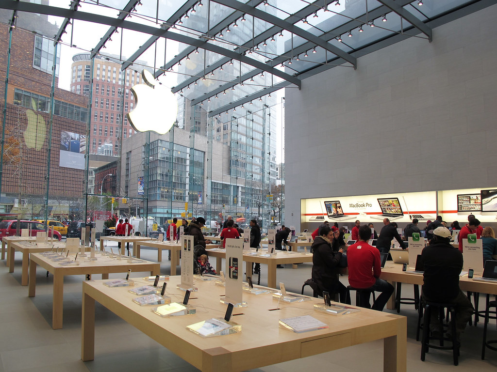 Upper West Side Apple Store Laughingsquidcomapple Store Flickr