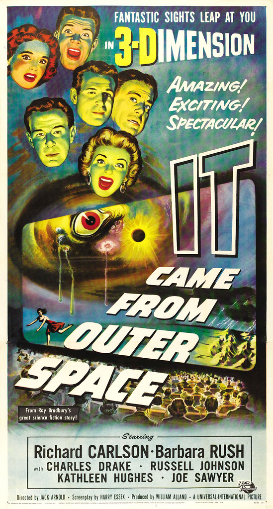 1953 amazing exciting spectacular james vaughan for 3d map of outer space
