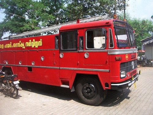 Fire Truck, Trivandrum, Kerala, India | Photos taken by Andr ...