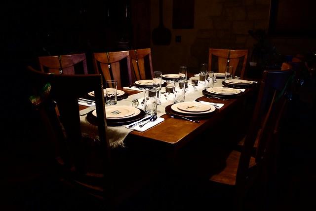 Table Set For Christmas Dinner Explore Brent Flanders