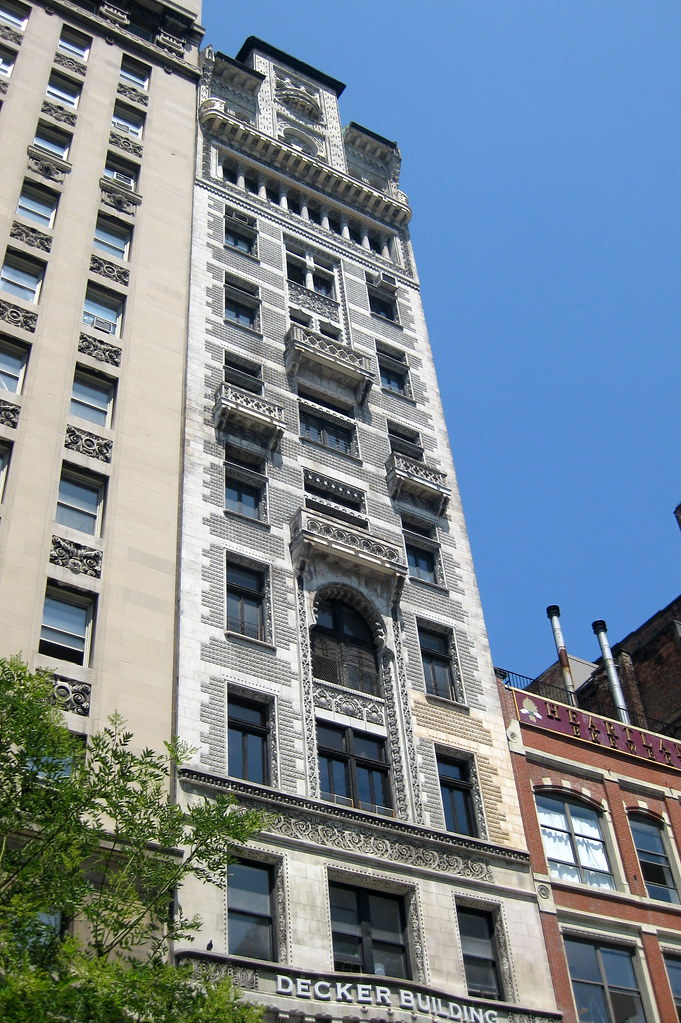 Nyc Union Square Decker Building The Decker Building