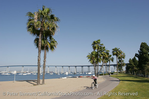 Bike San Diego To Coronado Bicycle Path Coronado Island
