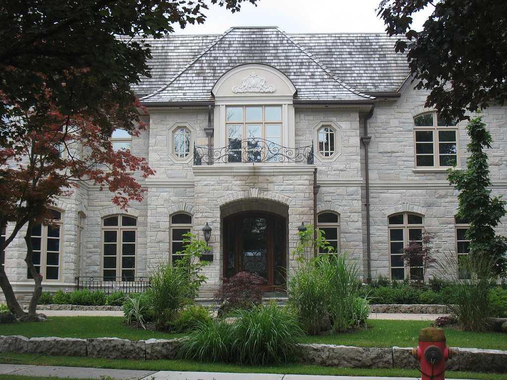 Indiana Limestone House In Toronto Cwb Mtl Flickr