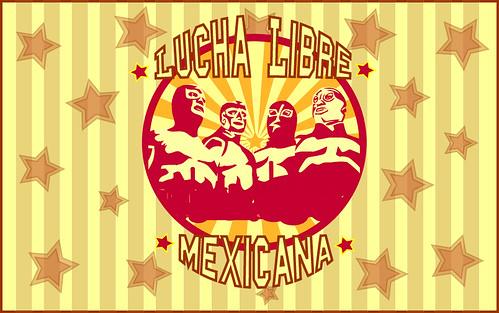 Lucha Libre Mexicana | In this vector appear: El Santo ...