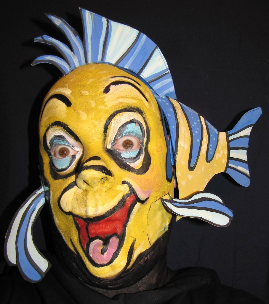 Fish Face Flounder From Quot The Little Mermaid Quot This Face