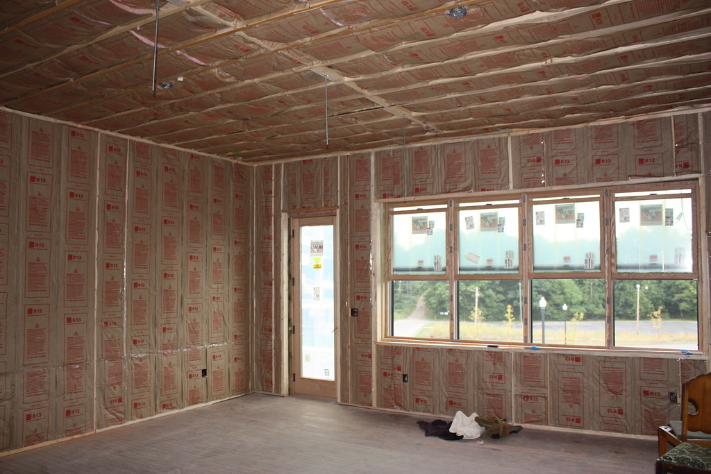 Finished insulation we added ceiling insulation to the for What insulation to use in 2x6 walls