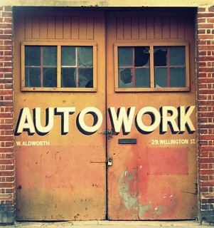 Autowork - Jericho | by Becky Frances