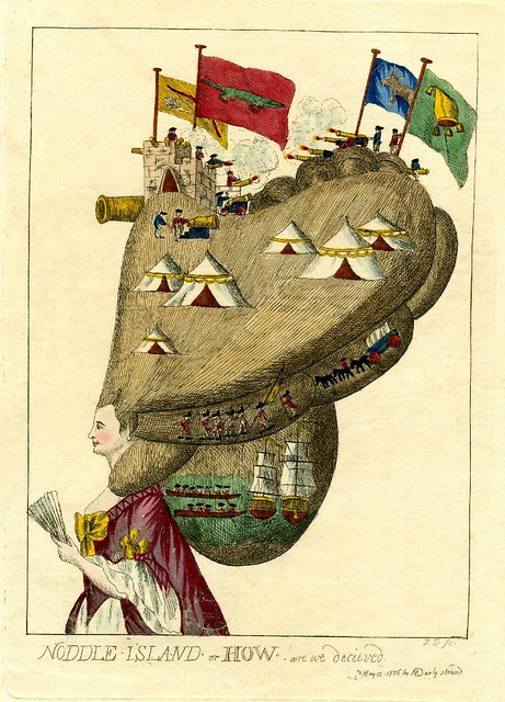 Noddle Island Or How Are We Decieved 1776 Bibliodyssey