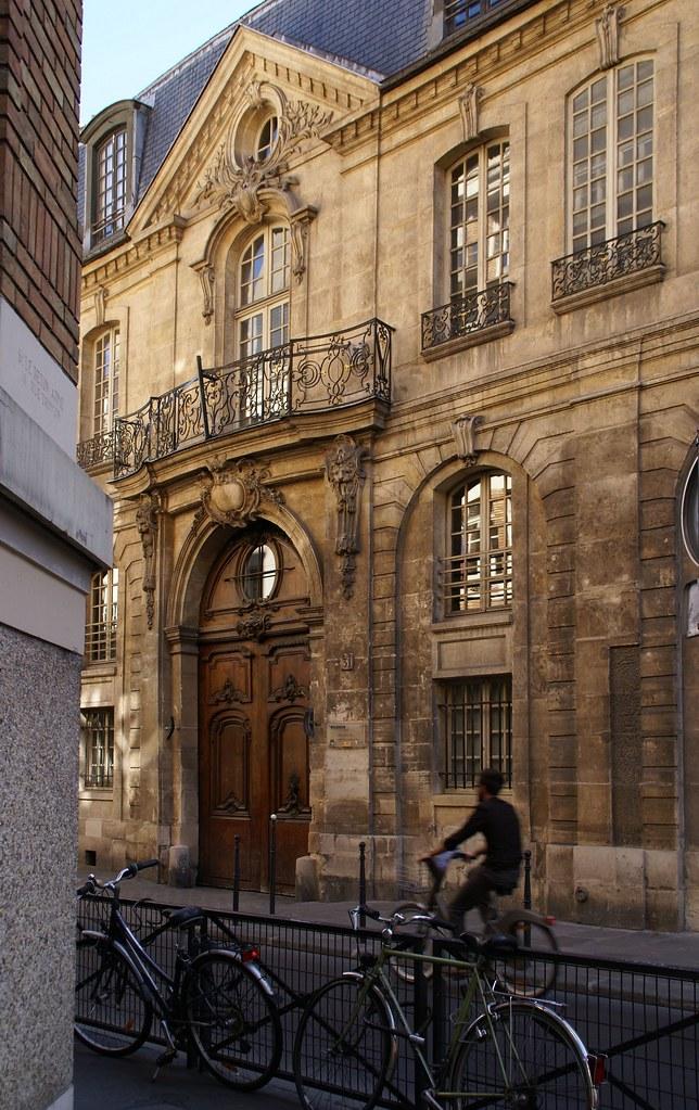 paris rue des francs bourgeois h tel d 39 albret der name d flickr. Black Bedroom Furniture Sets. Home Design Ideas