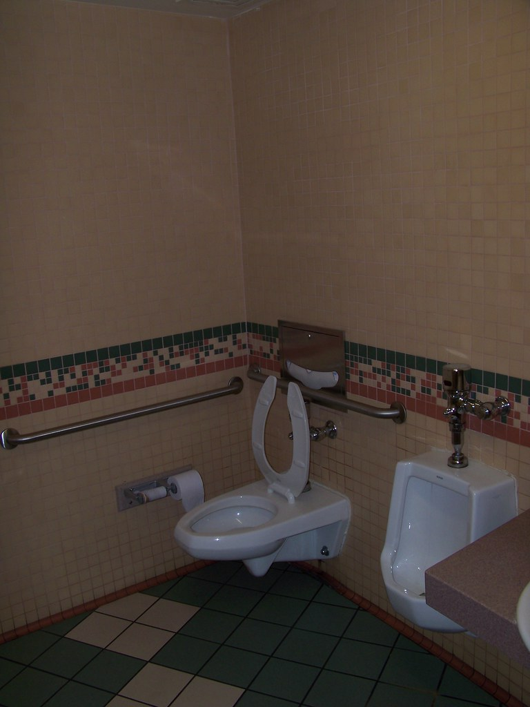 Fantasia Gardens Mini golf restroom | Brian Martsolf | Flickr