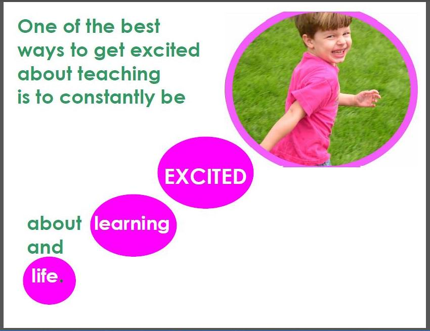 Image result for excitement about learning