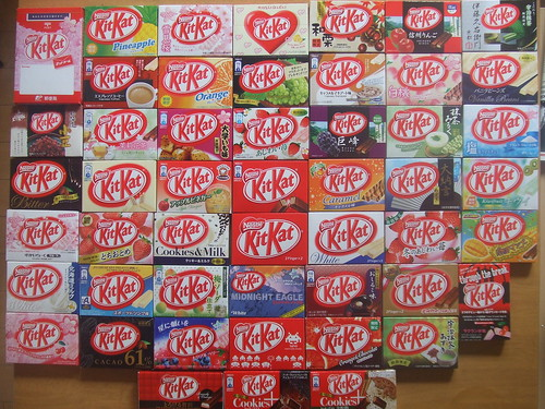 50 Kit Kats | by Billy Smolesworthy