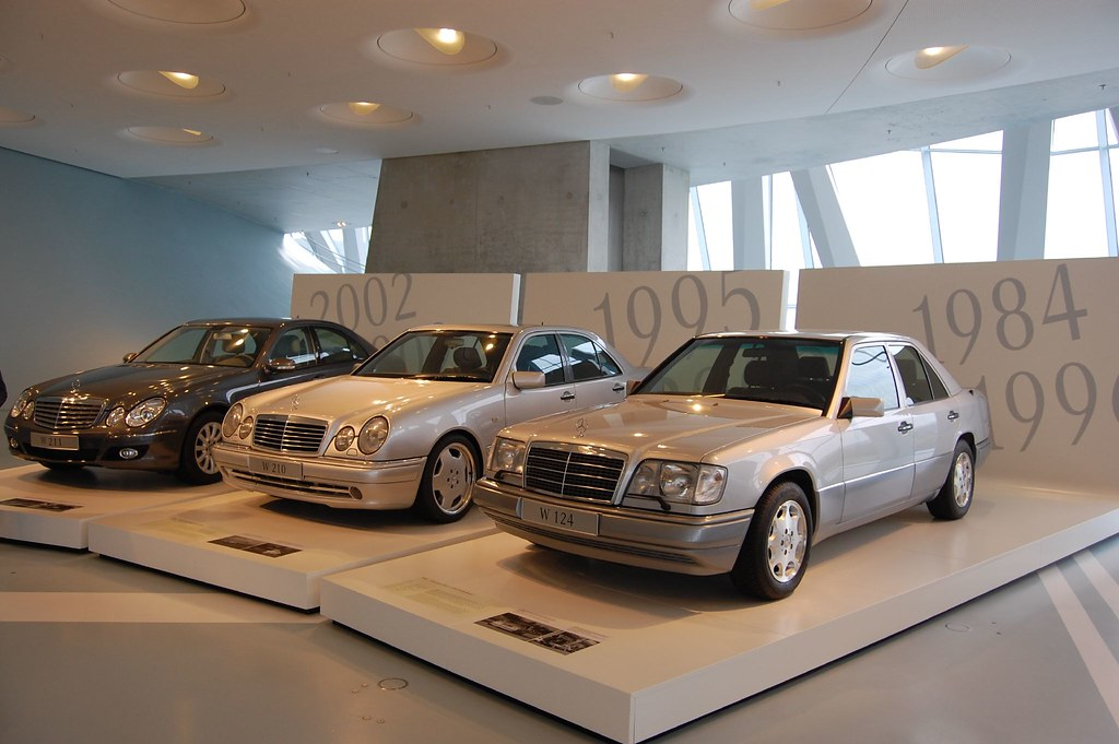 E Class Evolution At The Mercedes Benz Museum Murigu