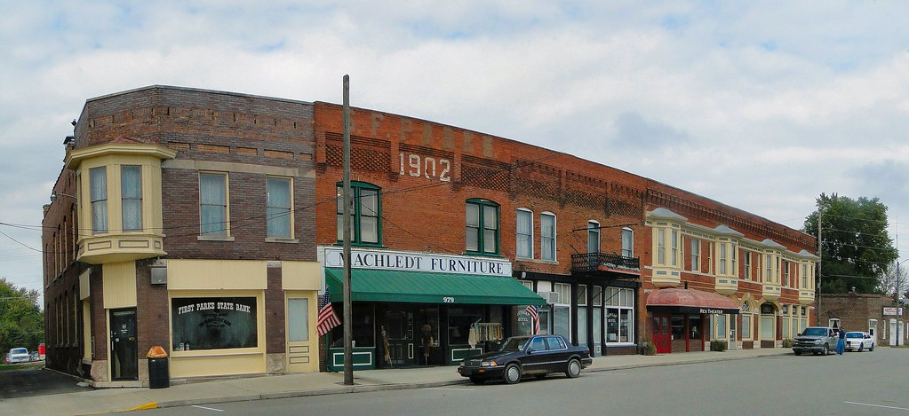 Montezuma, Indiana | Part of the lovely downtown of small Mo… | Flickr