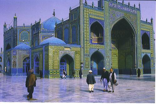 Afghanistan, Blue Mosque   by daniel_islami