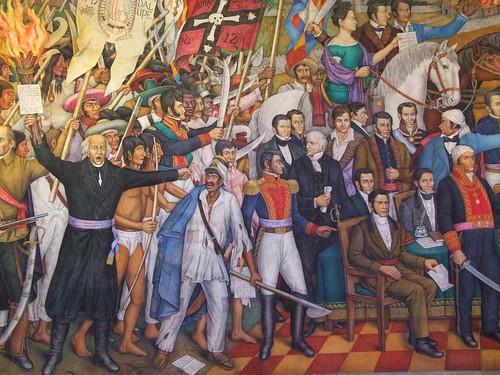 2009 10 castillo de chapultepec mural de la independenci for El mural avisos de ocasion