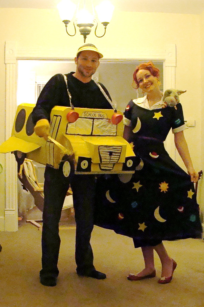 miss frizzle and the magic school bus my boyfriend and i w flickr. Black Bedroom Furniture Sets. Home Design Ideas