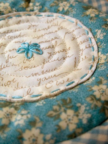 Quilted Teacup 7 - saucer | by PatchworkPottery