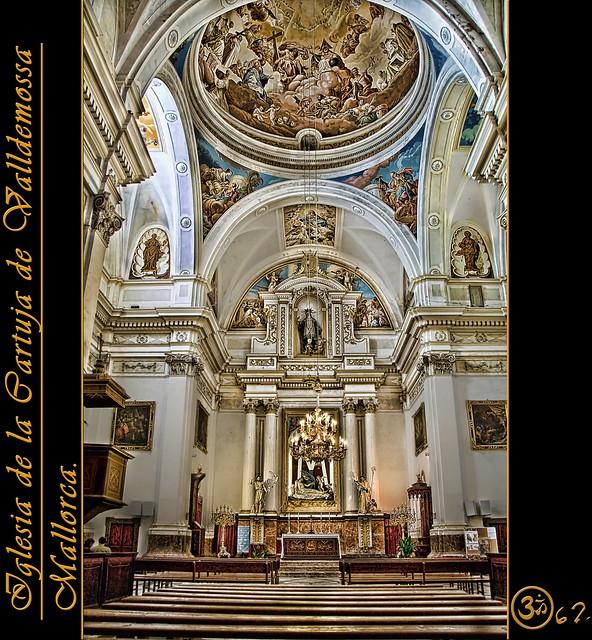 Iglesia de la Real Cartuja de Valldemossa.  Edificio de est…  Flickr