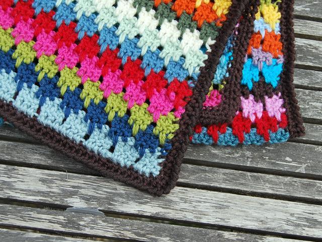 Larksfoot Stitch Blanket Edge Trui Kabel Flickr