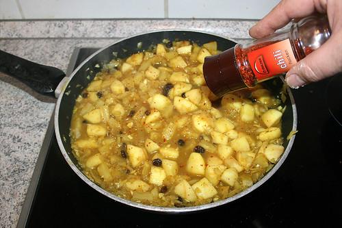 40 - Mit Chiliflocken abschmecken / Taste with chili flakes