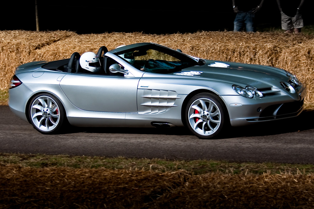 Awesome ... 2009 Mercedes Benz SLR McLaren Roadster | By Simon Greig Photo