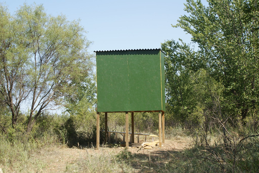 how to build a ground blind