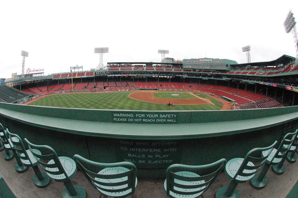 View From The Green Monster Seats This Is What You See
