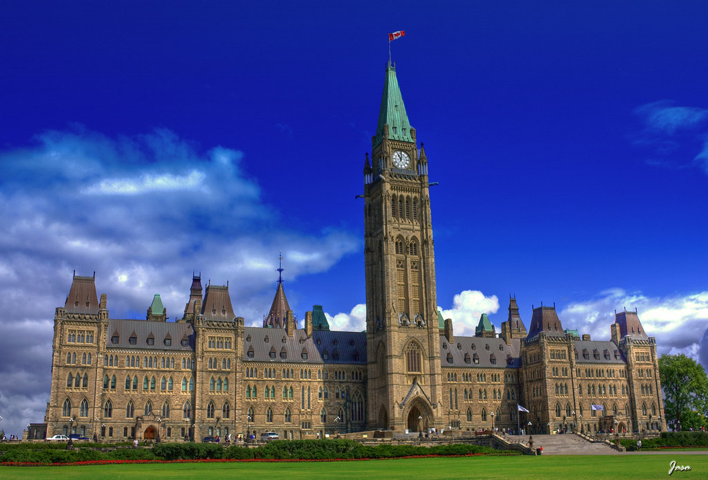 Block World Free >> Canadian Parliament - Center Block | View On Black The Centr… | Flickr