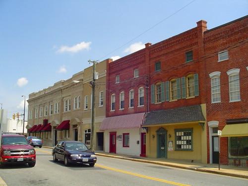 Downtown Waynesboro Virginia Wayne Avenue Just Beyond
