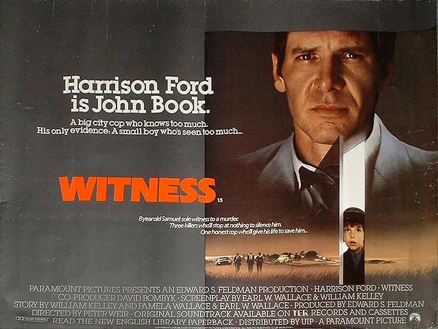 ผลการค้นหารูปภาพสำหรับ witness film poster