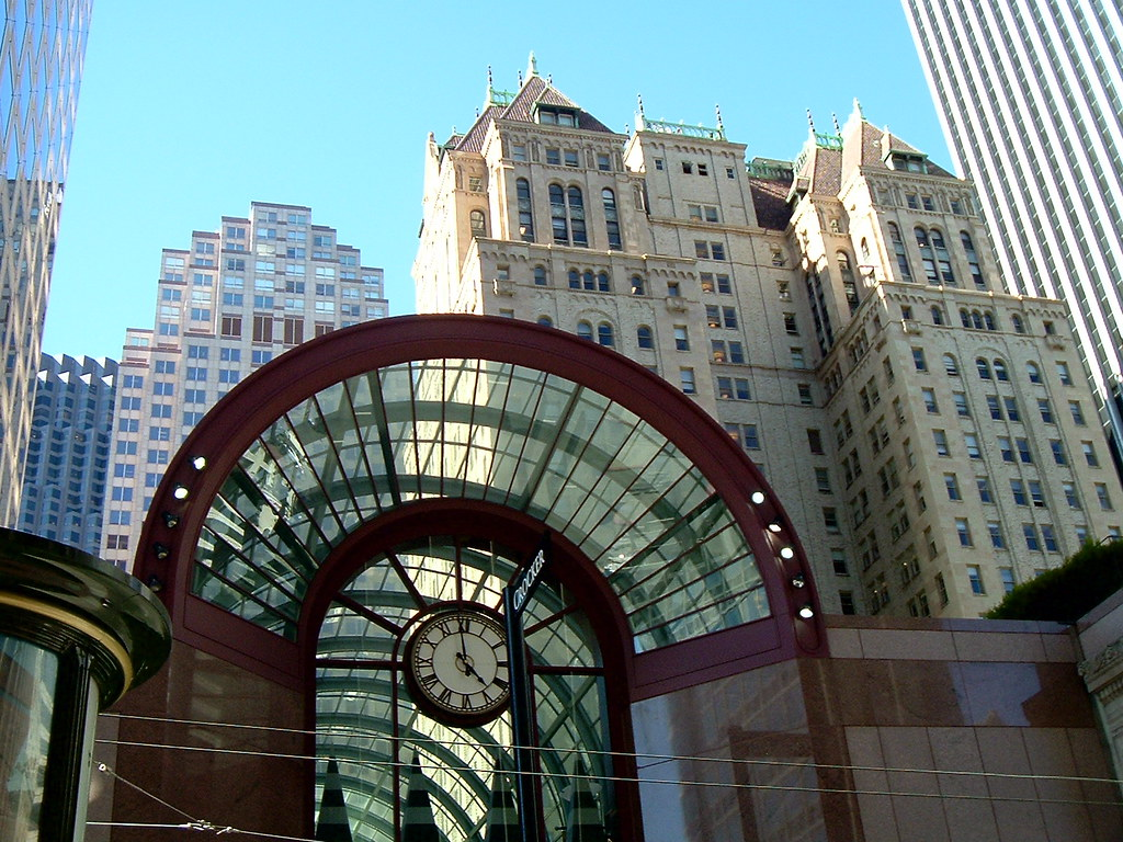 Crocker Galleria And Hunter Dulin Building 1926