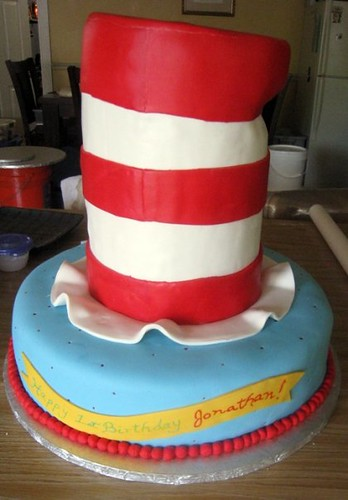 Cat In The Hat Cake A Customer Came To Us With A Picture