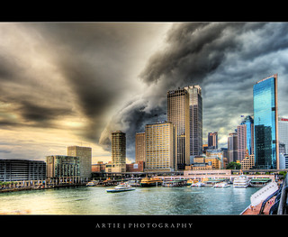 Sydney Under Severe Storm Attack! :: HDR | by :: Artie | Photography :: Travel ~ Oct