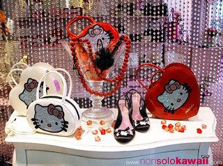 Hello Kitty ♥ shop window ♥ strass bags_02 | by non solo Kawaii