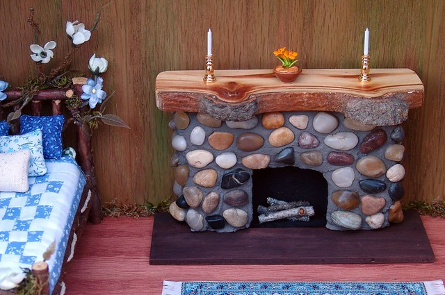 miniature fairy furniture fireplace this fireplace fairy