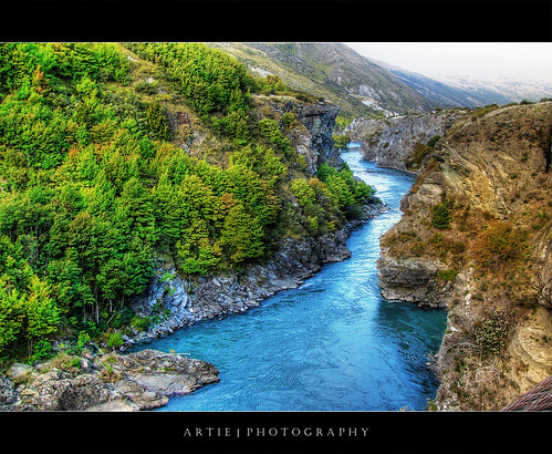 Kawarau River, Queenstown, New Zealand :: P-HDR | by :: Artie | Photography :: Travel ~ Oct