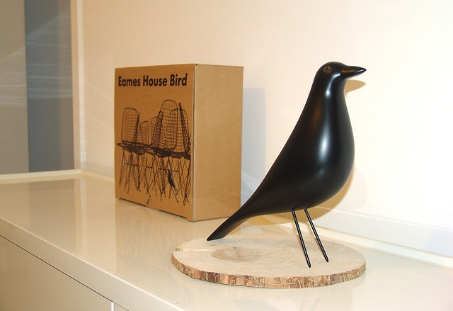 eames house bird my vitra eames house bird ebay. Black Bedroom Furniture Sets. Home Design Ideas