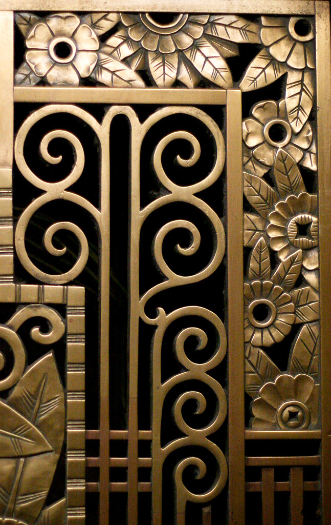 Art Deco Flower Corners Opacity Flickr