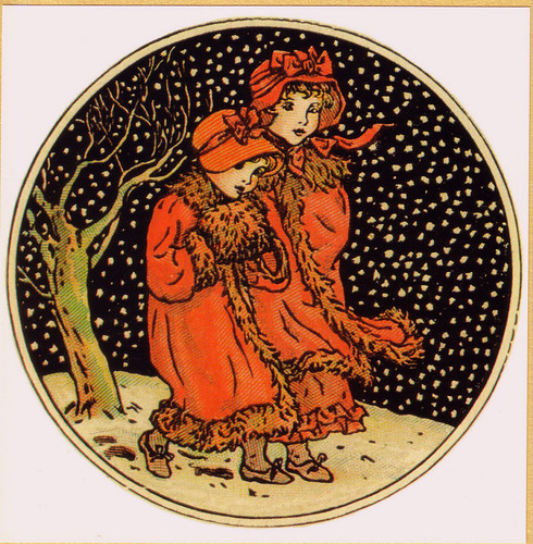"""December"" by Kate Greenaway 