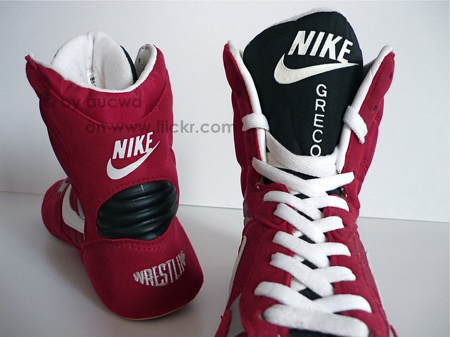 old school nike wrestling shoes