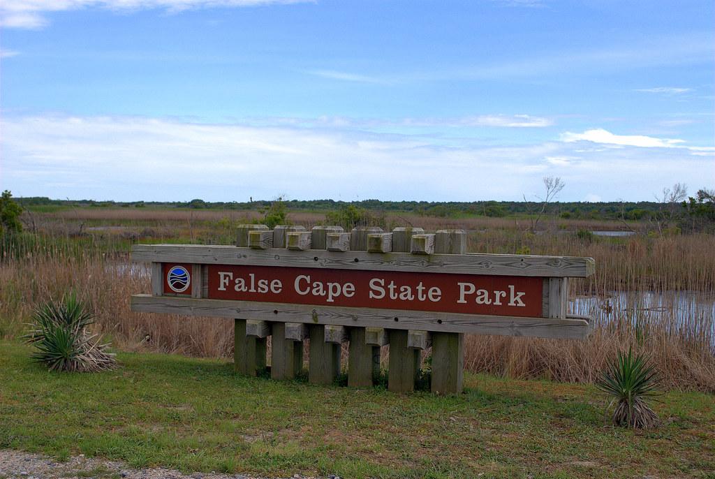 Sign False Cape State Park Virginia Beach Virginia