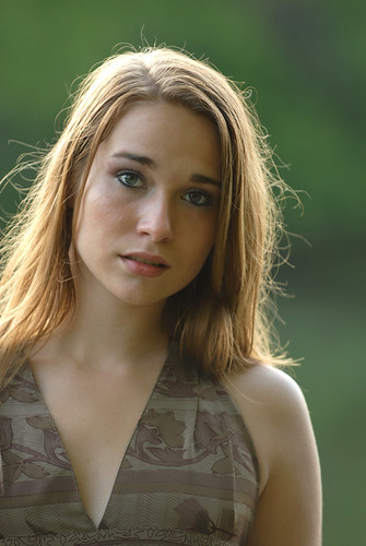 Expressive  A Naturally Beautiful Young Woman With An
